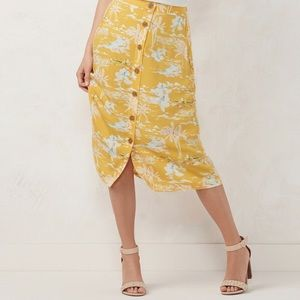 LC Lauren Conrad Skirts - LC Lauren Conrad Button Front Skirt NWT